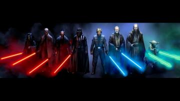 star wars darth vader sith jedi luke skywalker light sabers 1920x1080