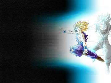 DRAGON BALL Z WALLPAPERS Teen Gohan super saiyan 2