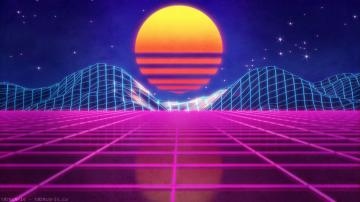 Neon Retro Wallpapers   Top Neon Retro Backgrounds