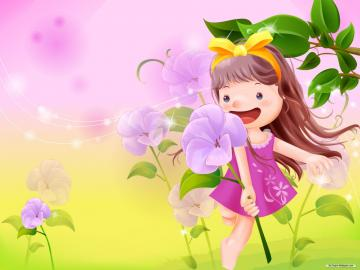 Cartoon wallpaper   Vector childhood 1 wallpaper   1920x1440 wallpaper