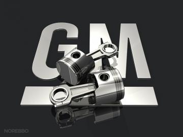 Stock illustrations featuring the GM General Motors logo Norebbo