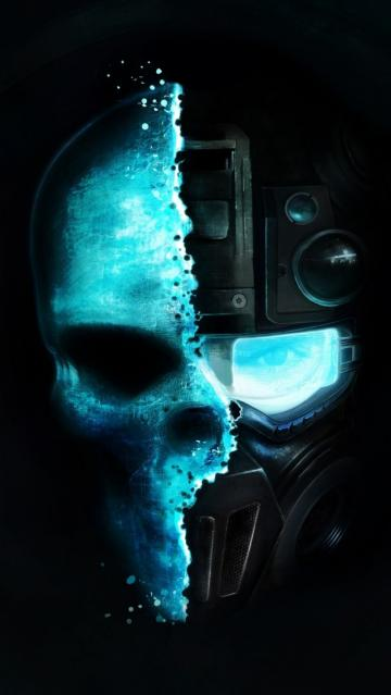 Ghost Recon Skull iPhone 5s Wallpaper Download iPhone Wallpapers