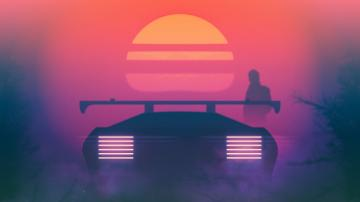 Journey [1920x1080] Retro waves Synthwave Retro futurism
