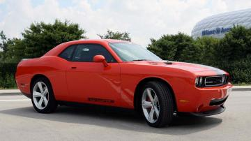 de Dodge Challenger Srt8 front angle Desktop Wallpaper HD 1920x1080