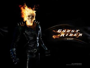 Ghost Rider Burning Skull wallpaper Wallpaper Walltor