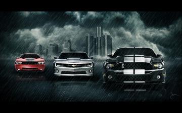 Chevy Camaro Parade Exclusive HD Wallpapers 200