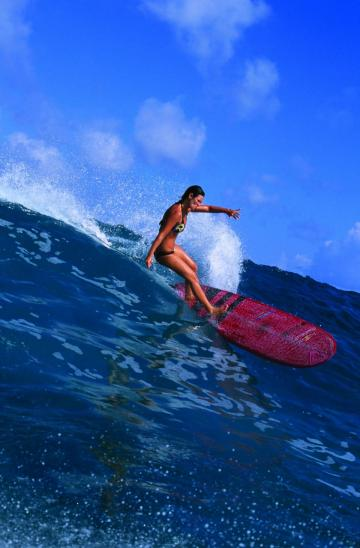 Girl Surfing Photos and Video   XarJ Blog and Podcast