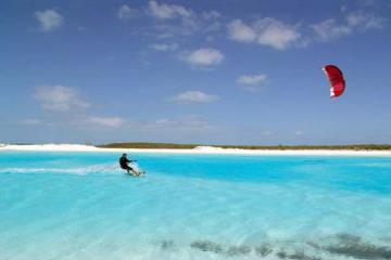 kite surfing new year