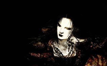 Dark Evil Girl Art Gothic Wallpaper Dark Wallpapers Gothic Girls