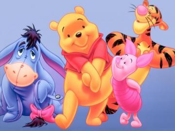 Walt Disney Winnie The Pooh Bear Characters Wallpaper Download