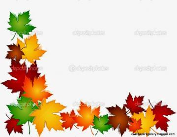 Leaves Border Clip Art Mewarnai