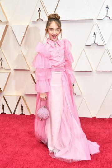 PHOTOS Oscars 2020 red carpet fashion stars arrive at 92nd