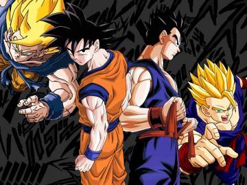 Wallpaper Goku e Gohan by Dony910
