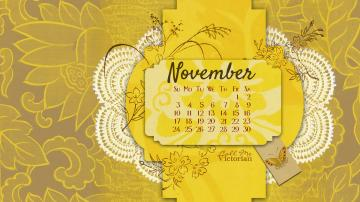 November 2013 Desktop Calendar Wallpaper Call Me Victorian