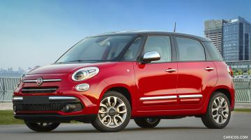 2019 Fiat 500L Lounge   Front Three Quarter HD Wallpaper 14