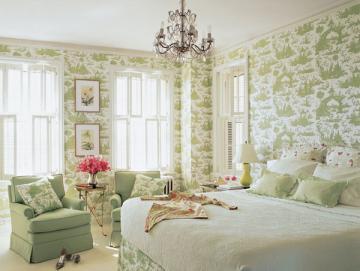 Romantic bedroom wallpaper decorating ideas picture amazing
