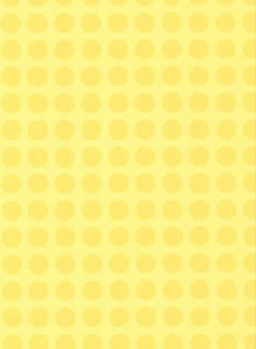 Yellow Dots Wall Paper   Wall Sticker Outlet
