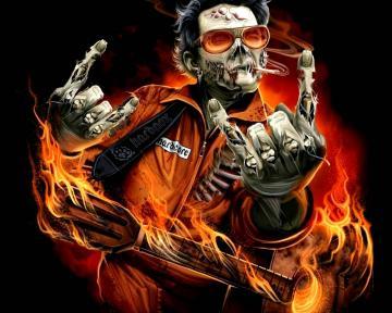heavy metal zombie   Heavy Metal Wallpaper