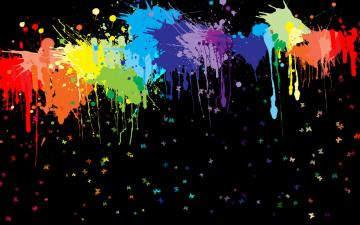 Abstract Paintball Color Desktop Background hd Wallpaper HD