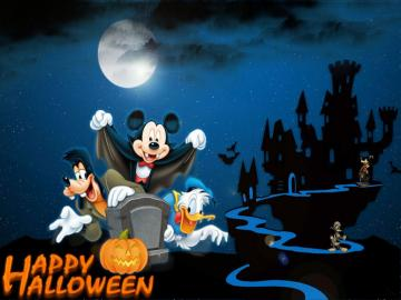 disney Happy Halloween   Walt Disney Characters Photo 35924621