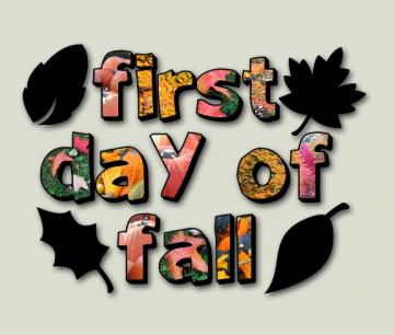 september 23rd is the first day of fall autumn though in this