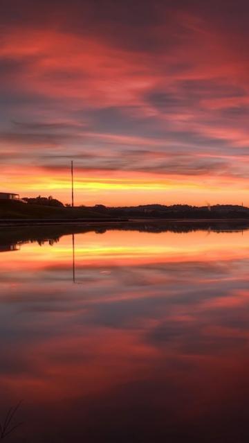 Beautiful Sunset Wallpaper 123mobileWallpaperscom