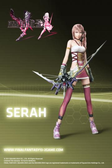 Final Fantasy XIII 2 Wallpapers   The Final Fantasy Wiki   10 years of