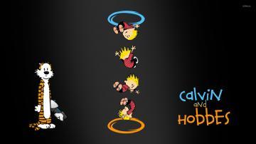 Portal Hobbes Portals Calvin And Hobbes Portal Hobbes Ohhh Portal