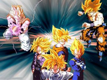 Super Saiyans Super Saiyans Wallpaper