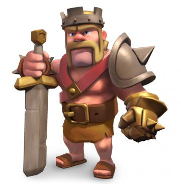 Barbarian King   guide to heroes in Clash of Clans Features Clash