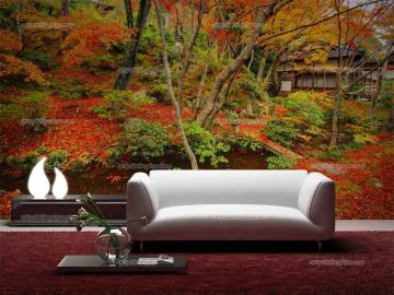 Wall Murals Zen Spa Canvas Prints Posters   Japanese Garden