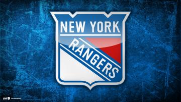 New York Rangers Hockey Logo Wallpaper