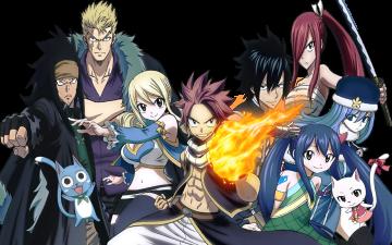 do anime Fairy Tail 2014 adicionadas tambm as de Fairy tail Zero