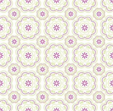 Wallpaper pattern Vector Graphic beautiful flower color two
