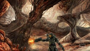 Wallpapers Download 2560x1440 video games halo master chief concept