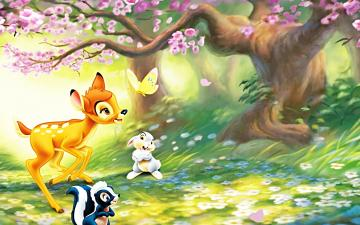 Walt Disney Characters images Walt Disney Wallpapers   Bambi HD