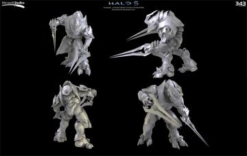 Halo 5 Arbiter Concept by Dutch02