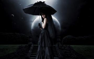Gothic Dark Sexy Girl