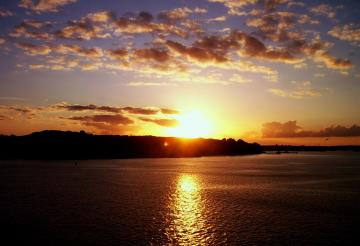Beautiful Sunset in Kiel Wallpapers HD Wallpapers