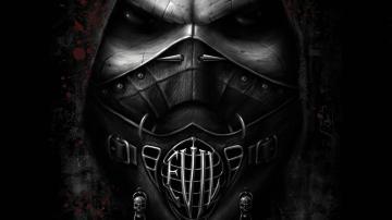 Dark horror mask evil gothic face eyes wallpaper 1920x1080 30329