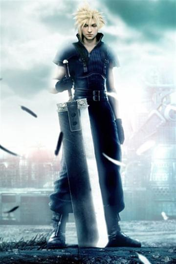 Final Fantasy VII and Cloud Game iPhone Wallpapers iPhone 5s4s