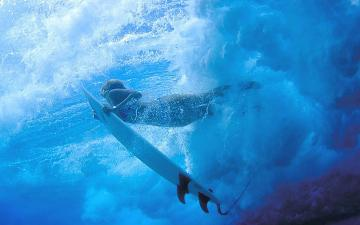 Pin Surf Girl Underwater Hd Wallpaper Placecom