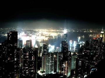you are watching the night city glow wallpapers night city