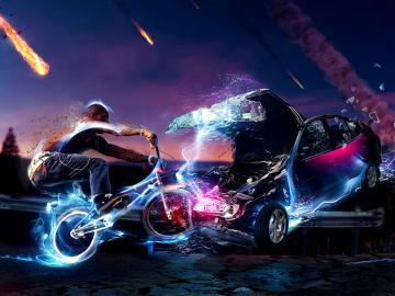 BMX HD wallpaper background 3D wallpapers Acer Iconia Tab A100