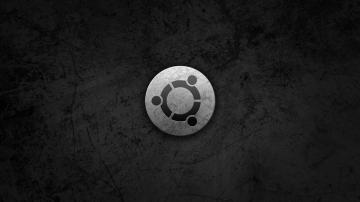 Tags logo black and white gray brand Circular grunge ubuntu