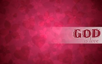 Wallpaper e Arte Crist Wallpaper Deus Amor God is Love