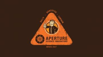 funny artwork aperture laboratories portal 2 Funny Wallpapers