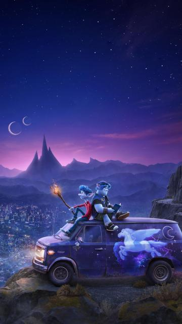 Onward 2020 Phone Wallpaper Pixar movies Disney pixar Pixar
