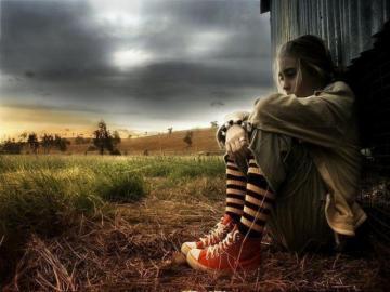 Alone Girl Sad