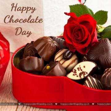 Chocolate Day happy valentine day my love Happy chocolate day